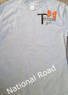 Tennessee girl home sweet home shirt by NationalRoad on Etsy