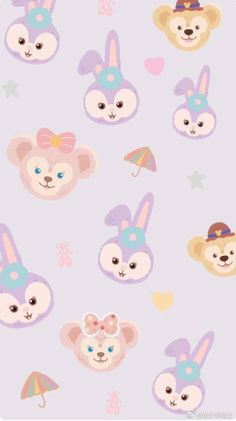 ideas wallpaper iphone cartoon backgrounds for 2019 Cute Pastel Wallpaper, Bear Wallpaper, Iphone Background Wallpaper, Kawaii Wallpaper, Trendy Wallpaper, Aesthetic Iphone Wallpaper, Iphone Cartoon, Disney Phone Wallpaper, Phone Wallpapers