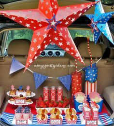 "Photo 7 of 22: Patriotic / 4th of July ""Fireworks Tailgate"" 