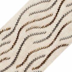 Kurti Embroidery Design, Tambour Embroidery, Bead Embroidery Patterns, Embroidery Fashion, Hand Embroidery Designs, Latifa, Samuel And Sons, Motifs Perler, Tiffany Art