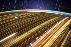 Lightpainting at 17.000 Mph.....