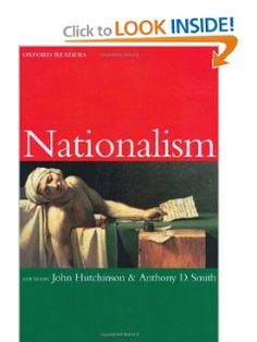 Amazon.com: Nationalism (Oxford Readers) (9780192892607): John Hutchinson, Anthony Smith: Books
