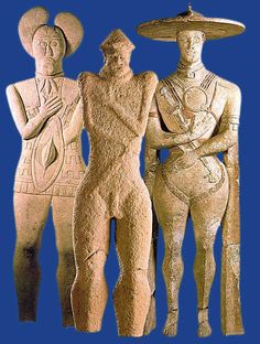 Organisation and co-ordination of an exhibition at the Museo Archeologico Nazionale dell'Abruzzo (Chieti 21st June - 3rd September 2000) where three famous tall stone statues dating from the Iron Age are displayed together for the first time. The statues belong to the Italic Picene and the Germanic Hallstatt Civilisations, which influenced each other through mutual contact. Soprintendenza archeologica dell'Abruzzo