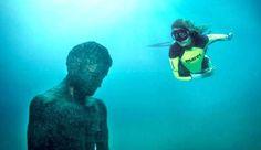 Un fastántico museo submarino en la isla de Losinj en Croacia
