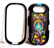 Rainbow offer Rainbow Wave Peace Sign on Black Rubberized Snap on Cover Case for Pantech Ease P2020. This awesome product currently limited units, you can buy it now for  $2.95, You save - New Cheap Computers, Wave, Lunch Box, The Unit, Rainbow, Sign, Awesome, Stuff To Buy, Black