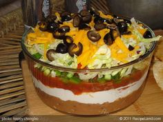 Photo of Seven Layer Taco Dip - Superbowl