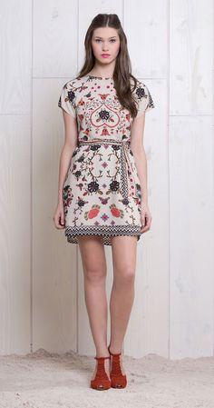Vestido Floral Étnico | Vestidos | Antix Store