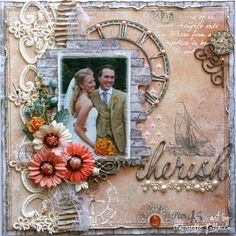 wedding layout by Gabrielle Pollacco