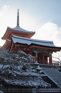 雪景色!清水寺(前編) : 花景色-K.W.C. PhotoBlog