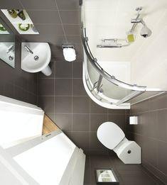 Small Bathroom Vanities, Tiny Bathrooms, Ensuite Bathrooms, Bathroom Basin, Bathroom Ideas, Small Narrow Bathroom, Loft Ensuite, Loft Bathroom, Bathroom Plumbing