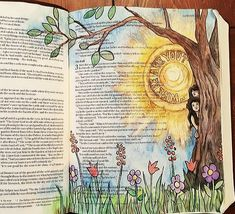 Genesis 3:9  Heaven Is Calling – A Bible Art Journaling Challenge Series 2 http://www.rebekahrjones.com/bible-art-journaling-challenge/heaven-is-calling-a-bible-art-journaling-challenge-series/