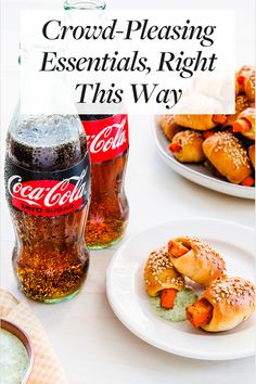 Crowd-Pleasing Essentials, Right This Way. Order your customized Coke bottles for your event. Quick Dinner Recipes, Quick Snacks, Quick Meals, Coca Cola, Mexican Street Food, Best Bbq, Appetizers For Party, Pork Recipes, Coco