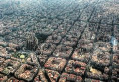 Barcelona has some great city planning. It lets in more sun, is more accessible, and damn pretty to boot.