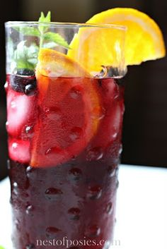 DIY Natural Energy Drink{I tested and can confirm that this wonderful recipe is a great energy replenishing solution...#diy, #homemade,#natural drink