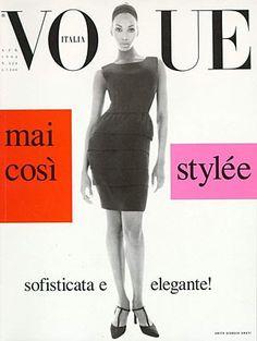 Beverly Peele, photo by Steven Meisel, Vogue Italia, April 1994*