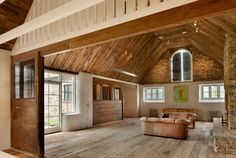 Rural Renovation: 18th Century private estate gets a magnificent reconstruction