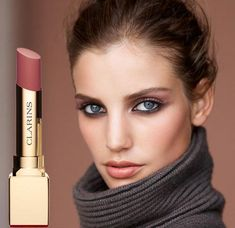 Clarins Ladylike Fall 2014 Makeup Collection..luv clarins evermatte in honey..perfect match 4 me in between winter&summer