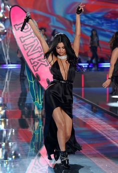 Selena Gomez performing at the 2015 Victoria's Secret Fashion Show, November 10th 2015