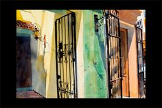 He did a presentation at our Art Guild and he was mesmorizing.  I so admire watercolorists, because that medium is so difficult for me.