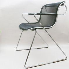 Chaise de bureau Pénélope, design Charles Pollock pour Castelli