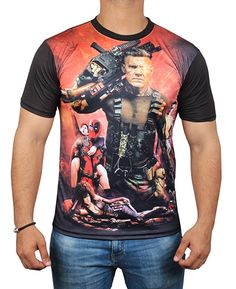 8ed3b7785 Amazon.com - Buy Now! Miracle(Tm) Deadpool Poster 3D Sublimation T Shirt -  Mens Adult Graphic Shirt (M)