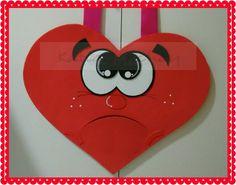 O que esta dentro de seu coração? Coloque palavras de acordo com sua realidade. 47cm (Verso)
