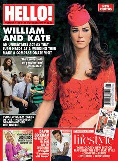 Kate Middleton in Hello magazine