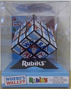 Where's Wally ~ Rubik's Cube Puzzle ~ Special Collectors Edition