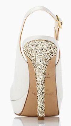 Gorgeous glitter heel by #katespade http://rstyle.me/n/gypm9nyg6