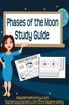 Phases of the Moon Interactive Study Guide