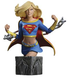 #transformer ko women of the dc universe series 3: supergirl bust [statue] by dc direct