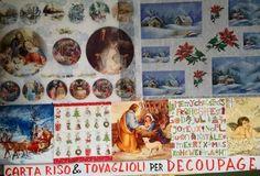 Carta di riso pittorica e tovaglioli per Decoupage Natale 2016  Tovagliolini e carte riso stampate di natale per decoupage da Colour Academy - Belle Arti , Bari  Natività, paesaggi, babbo natale, angeli, ghirlande, stelle di natale, presepi, miniature e decorazioni natalizie  Vieni a scoprire le nuove collezioni #NATALE2016  #decoupage #bricolage #hobby #christmas #natale #bari #2k16
