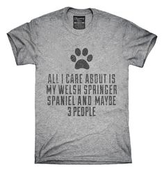 Funny Welsh Springer Spaniel T-shirts, Hoodies,