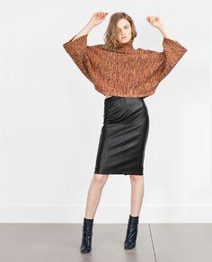 Imagem 1 de SAIA TUBO da Zara