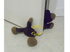 Ravelry: Doggie Door Prop pattern by Carla Scull Ravelry Crochet, Free Crochet, Half Double Crochet, Single Crochet, Knitting Patterns, Crochet Patterns, Dolls For Sale, Basic Crochet Stitches, Needle Felted Animals