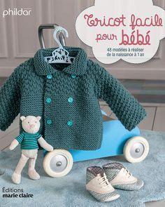 En attendant une naissance, tricotez ce joli pull brassière pour bébé facile à faire.