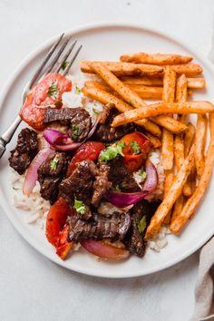 Lomo Saltado (Peruvian Beef Stir Fry) Recipe | Little Spice Jar