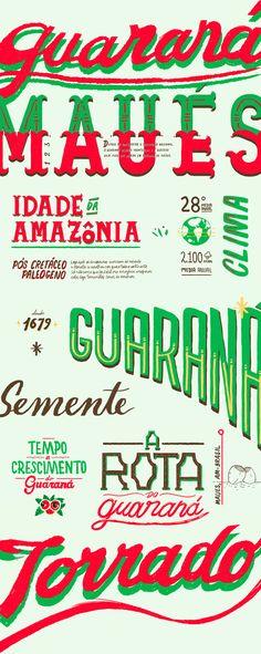 """Echa un vistazo a este proyecto @Behance:""""Guaraná from Maués"""" https://www.behance.net/gallery/55313075/Guarana-from-Maus"""