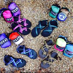 ENO hammocks and Chacos: like peanut butter and jelly, but probably not quite as good to eat.