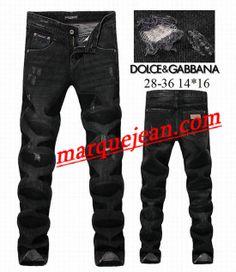 Vendre Jeans Dolce & Gabbana Homme H0098 Pas Cher En Ligne.