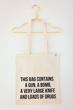 This bag contains... par sewjunk sur Etsy, €22.00