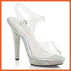 9ba675b95a8 Fabulicious Womens Sandal Clr SLV Multi Rs 10 M US   Visit the image link  more details.