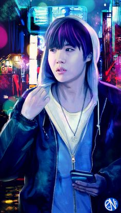awesome j-hope fanart ^^