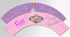 Sofia the First Cupcake Wrappers FREE PDF Download