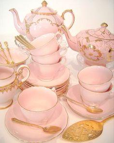 Tea cups in pink!