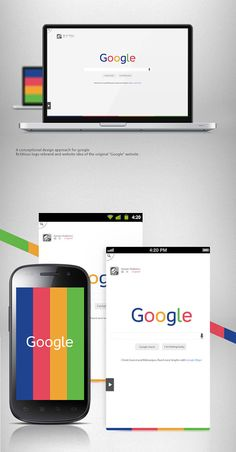 Google Redesign Concept + Freebie