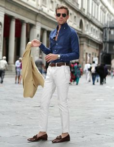 c98cb46c03d3 Italian Style Mens Fashion Street Style White Trousers Shirt Italian Mens  Fashion