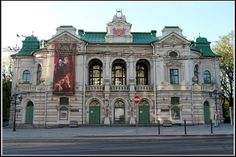 National theatre in Riga.