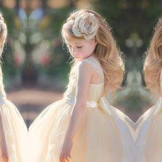 Sweetheart Strapless Tulle Flower Girl Dress