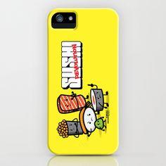 Sushi Revolution iPhone Case by kioshishimabuku - $35.00
